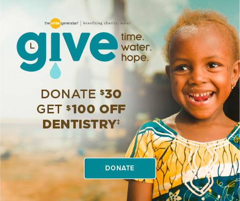 Donate $30, Get $100 Off Dentistry - Crossroads Dental Group